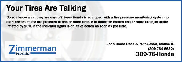 Your Tires Are Talking