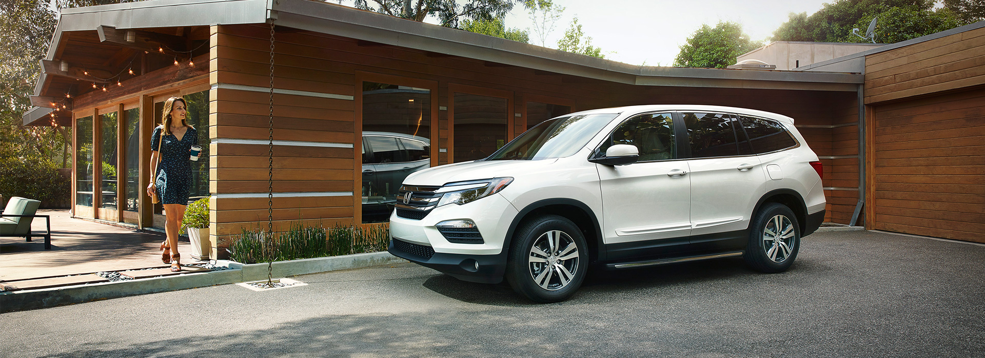 2018 honda pilot shop features exterior